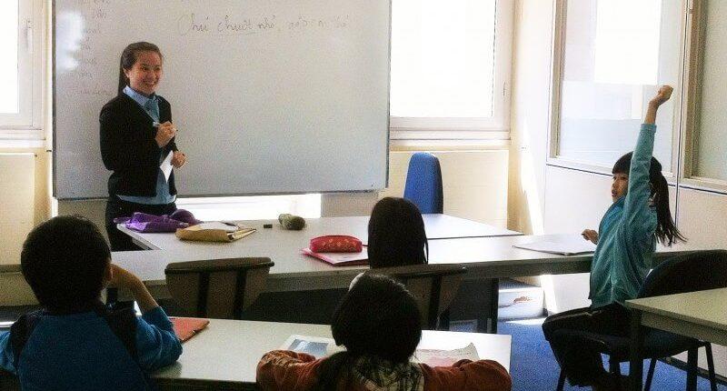 học tiếng Việt ở nước ngoài