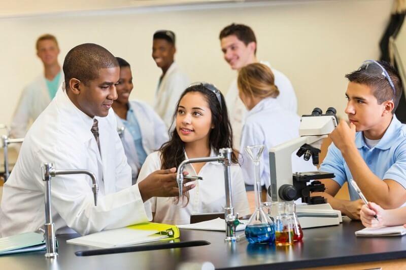 Phương pháp dạy Hóa học bằng tiếng Anh
