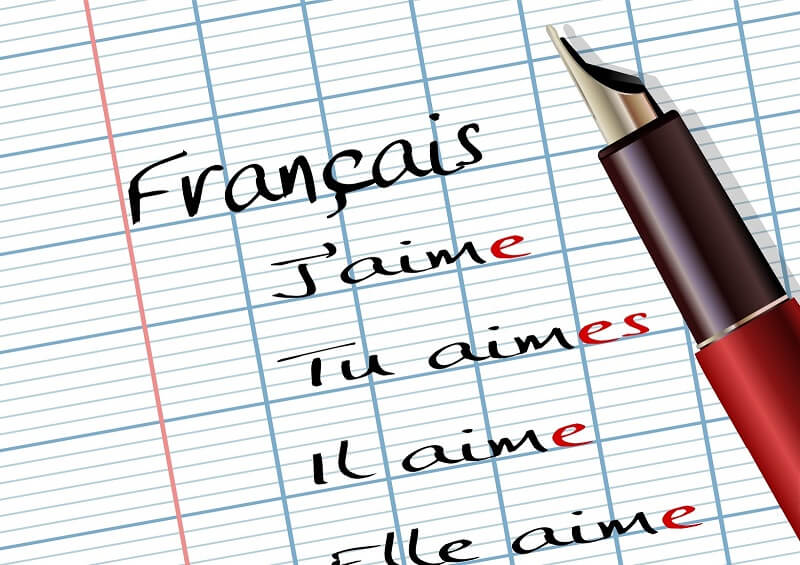IB French teacher language
